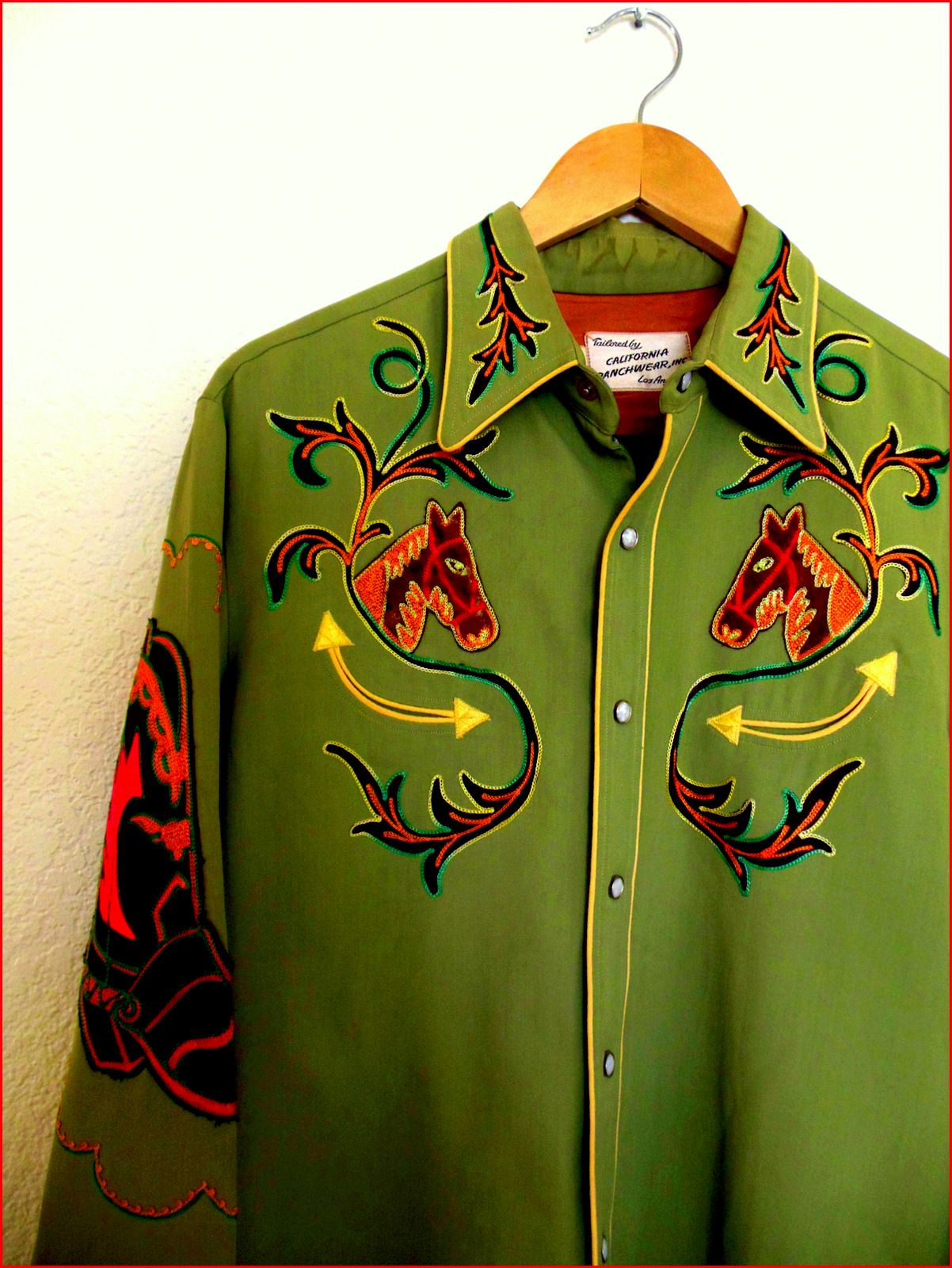 old cowboy shirt colourful life pinterest cowboys westerns