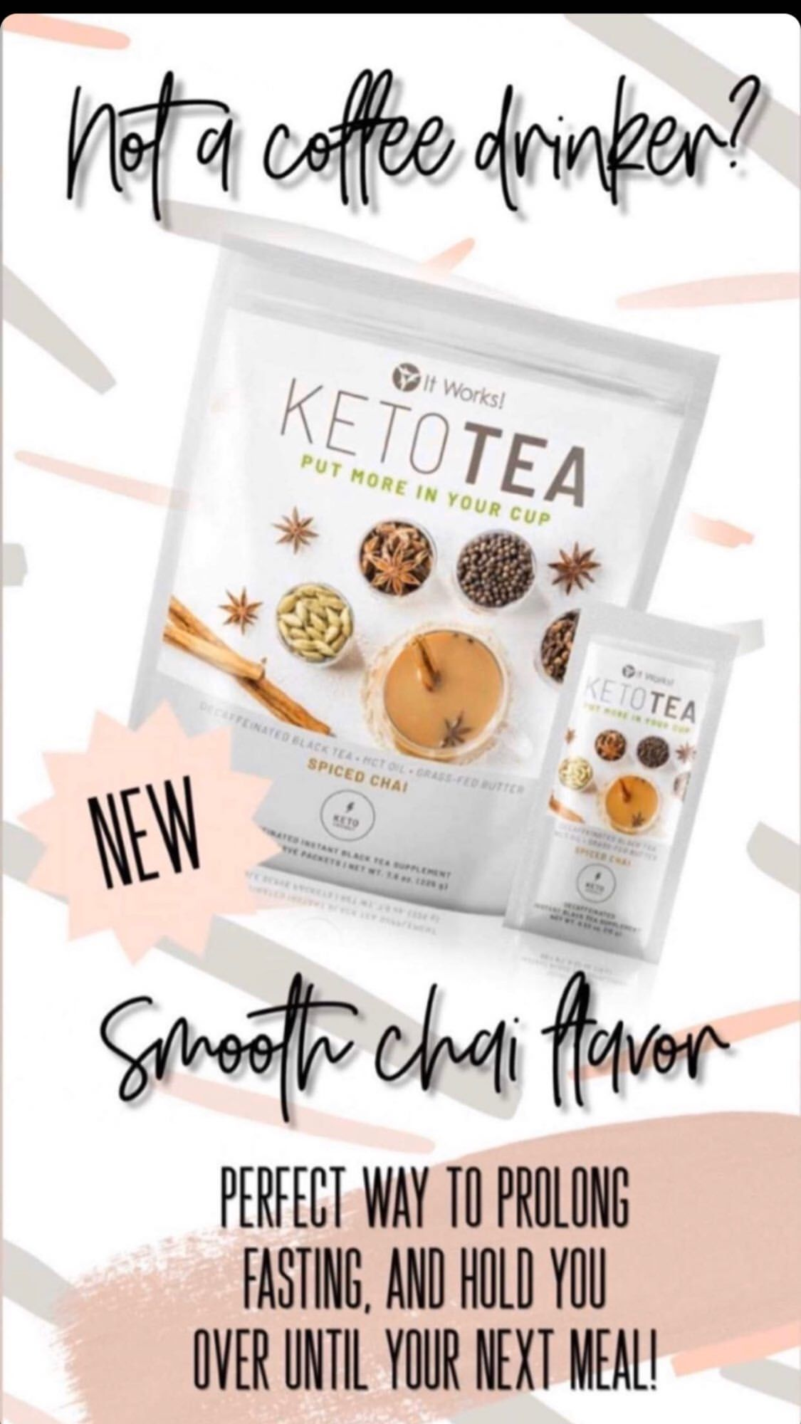 Pin by bri brown on keto tea in 2020 it works products