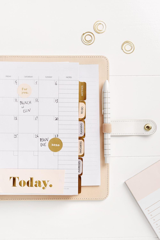 Pause for a Moment & Organise your Planner | Kalender, Schreibwaren ...
