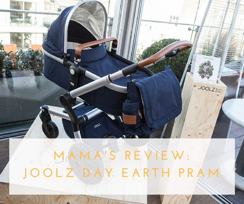 MAMA PRODUCT REVIEW JOOLZ DAY EARTH PRAM (PARROT BLUE