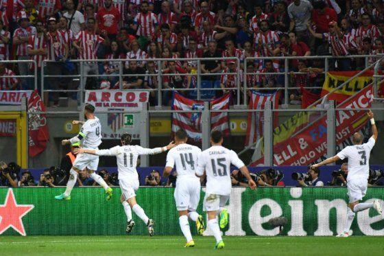 Por undécima vez, Real Madrid es el campeón de la Uefa Champions League