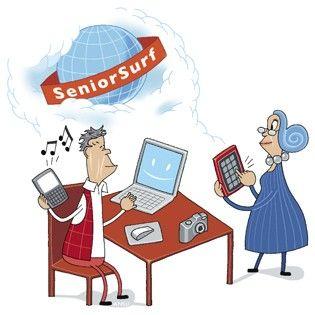 Senioriverkko on mukana Vanhustyön keskusliiton koordinoiman SeniorSurf-päivän suunnitteluryhmässä. Surffi-päivänä ikäihmiset pääsevät helposti tutustumaan tietotekniikan maailmaan.
