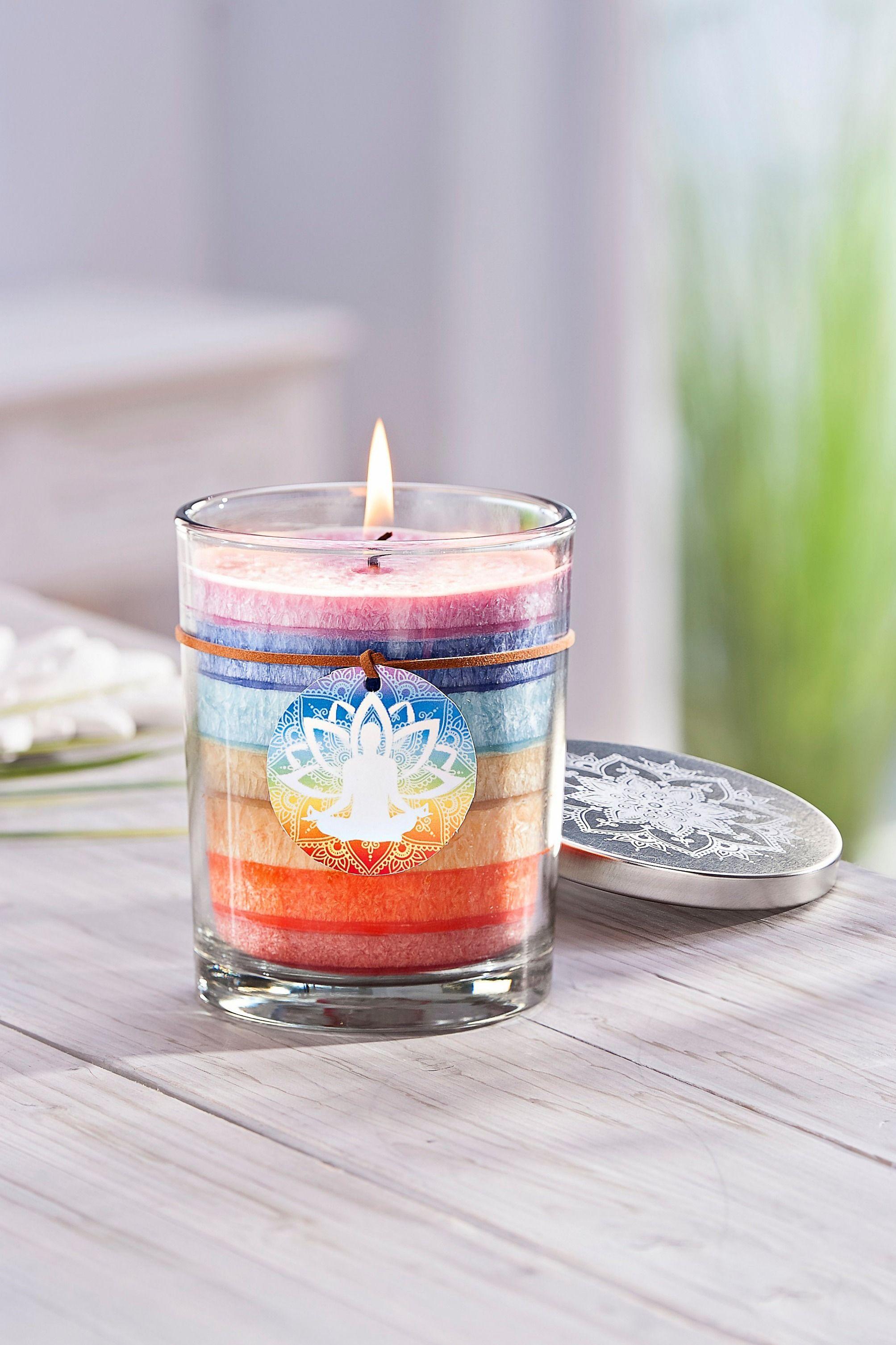 Xl Kerze Chakra Im Glas Jetzt Bei Weltbild De Bestellen Kerzen