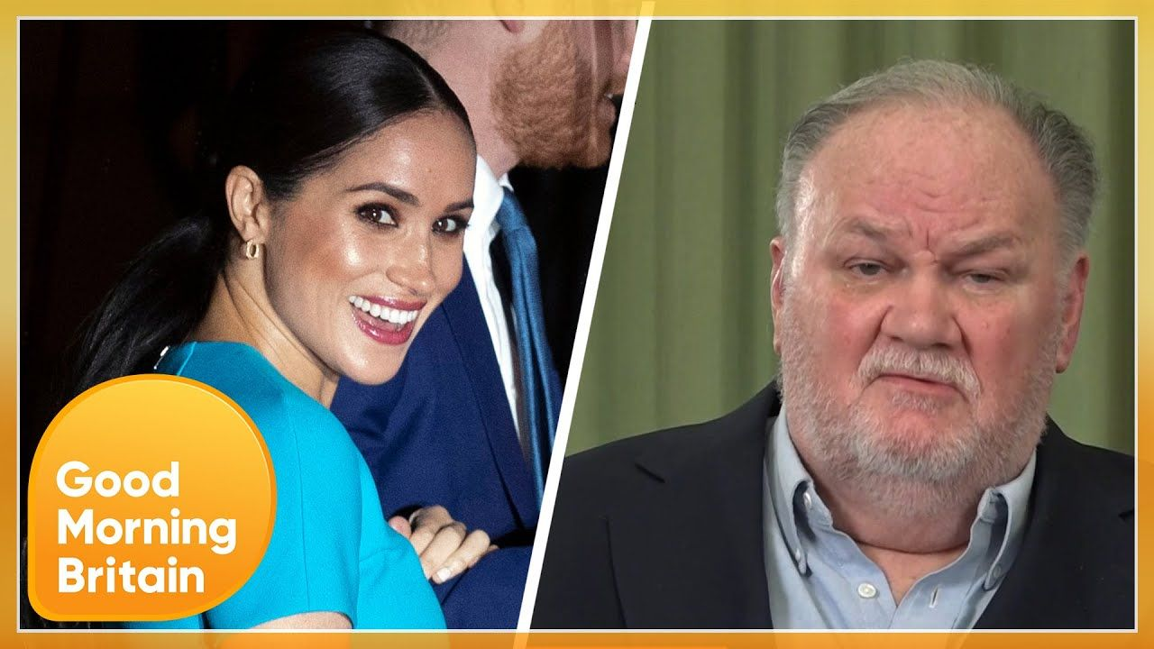 Thomas Markle Admits He Lied To Meghan Markle Claims She Ghosted Her Family Good Morning Britain Youtube In 2021 Good Morning Britain Meghan Markle Dad Oprah