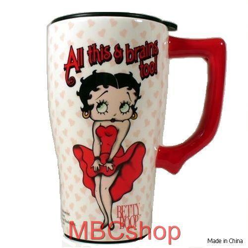 Betty Boop Cups Garden Kitchen Dining Bar Dinnerware