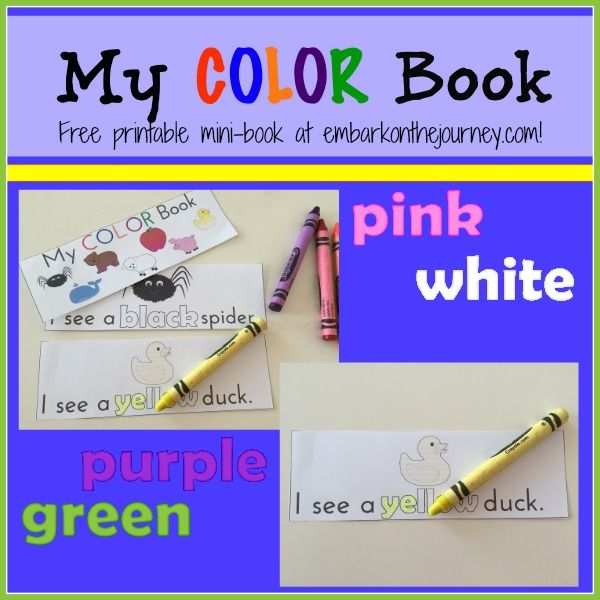 Our Favorite Books for Teaching Colors {Free Printable} | Products ...