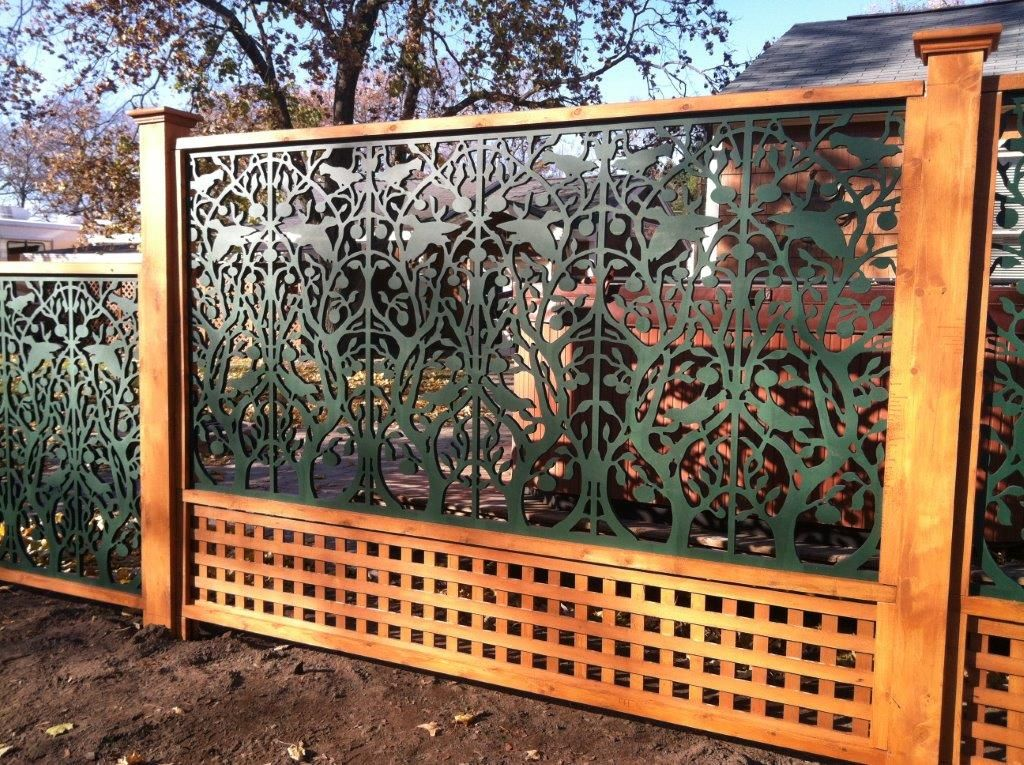 Image result for acurio lattice fence backyard for Lattice ideas