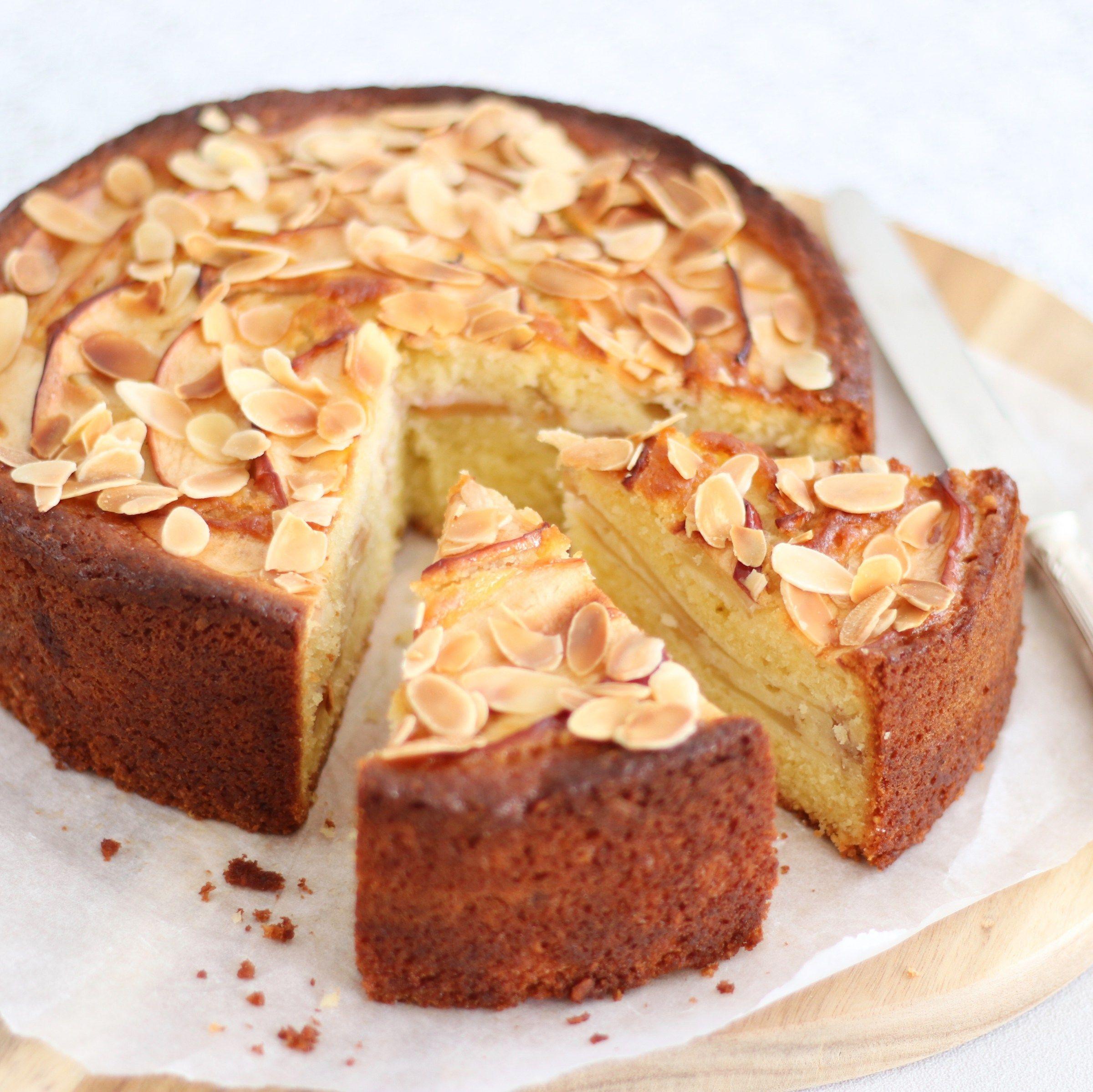 cake bakken met patentbloem