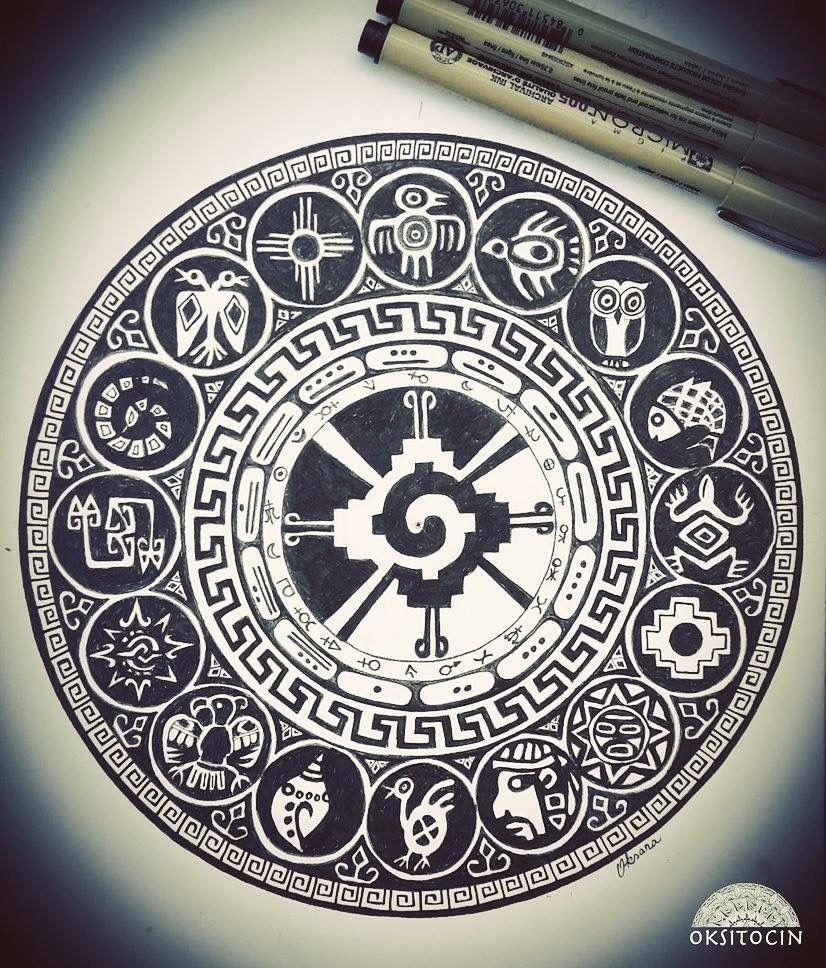 Calendario Inca Simbolos.El Proximo Aztec Warrior Tatuajes Mayas Tatuaje Inca Y