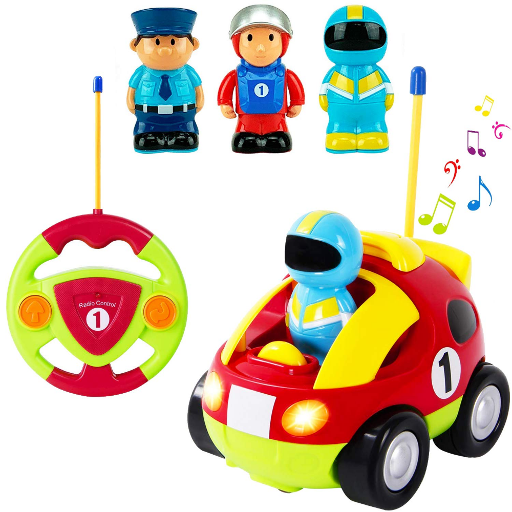Amazon Com Liberty Imports Cartoon R C Race Car Radio Control Toy For Toddlers English Packaging Gateway Toddler Toys Toy Car Remote Control Toys