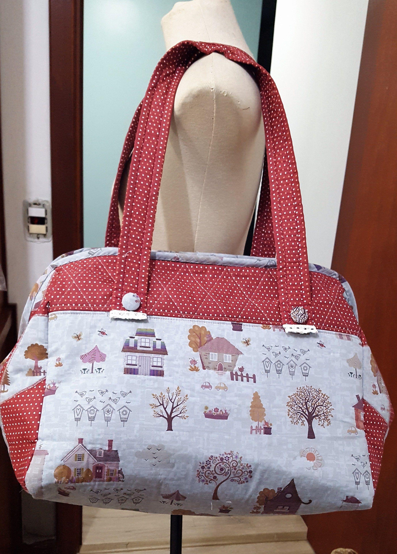 ec7472a1b Acompanhe o passo à passo de como fazer uma bolsa grande de tecido ...