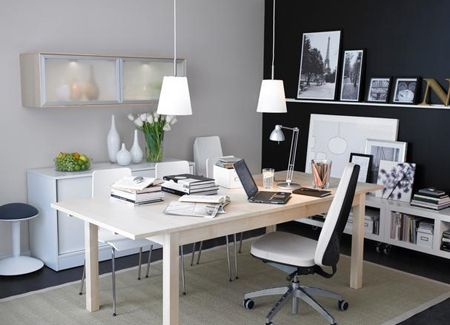 A Home Office Design Idea By IKEA Were Turning Linen Closets Into Offices Embellishing Stock Furniture And Repurposing What We Already Own In