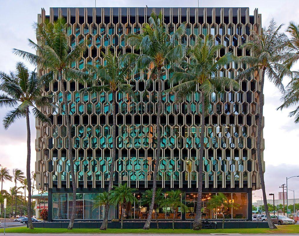 IBM building designed by the late architect Vladimir Ossipoff (Honolulu, Hawaii 1962)