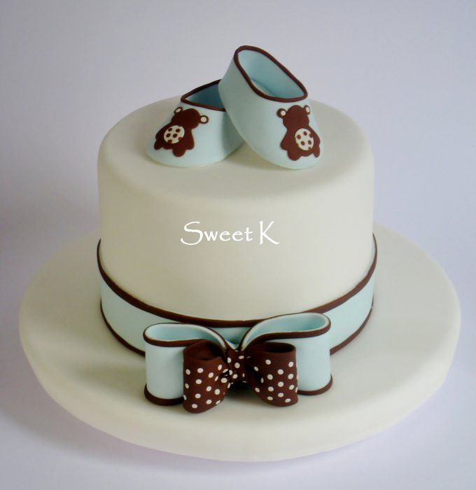Baby Shoescake By Karla Sweet K Cakesdecor Cake