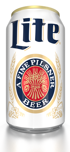 Miller Lite Packaging And Visual Identity Crest Logo In 2021 Miller Lite Beer Design Beer Logo