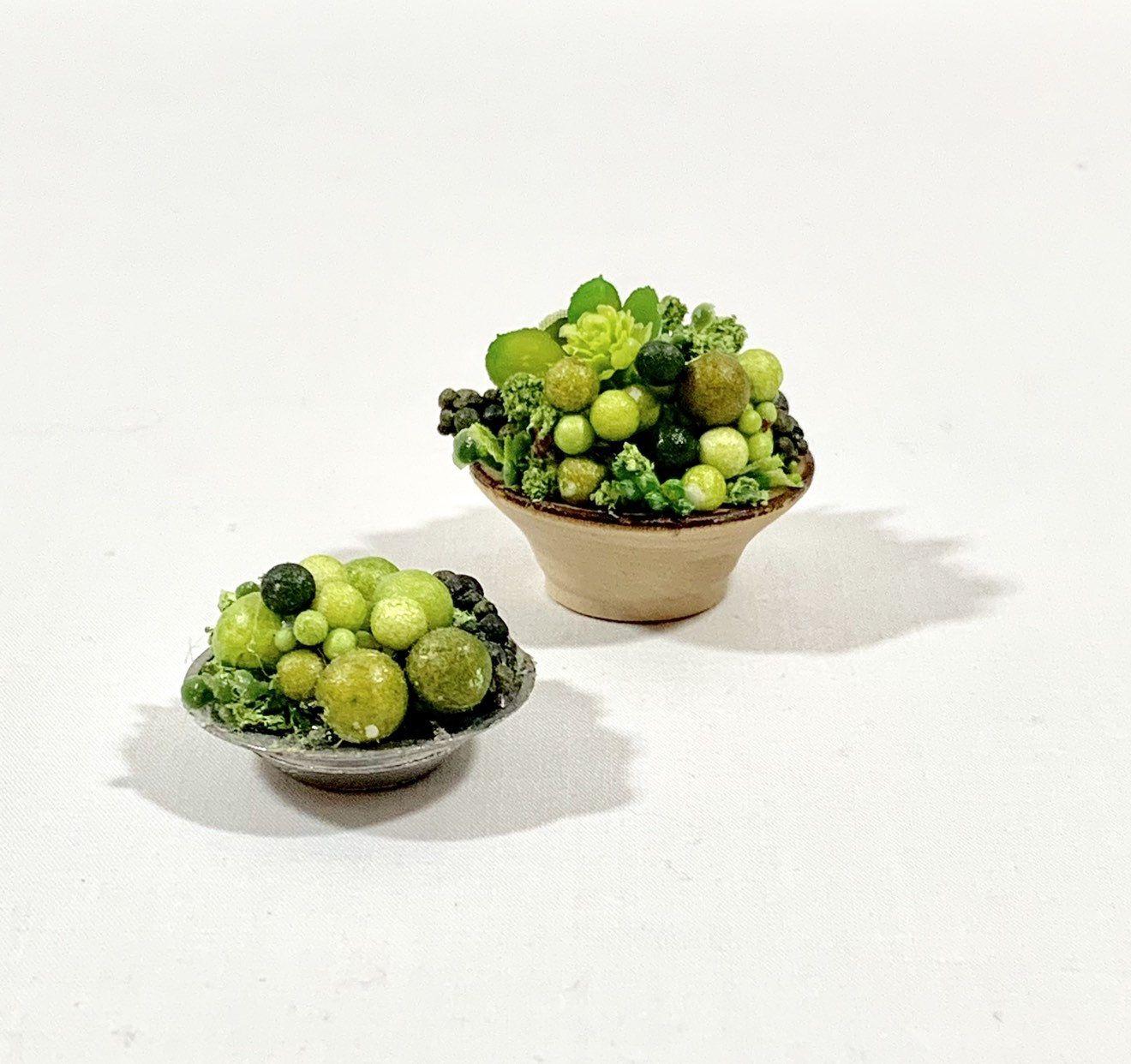 Dollhouse Table Centerpiece Plant Miniature Fl