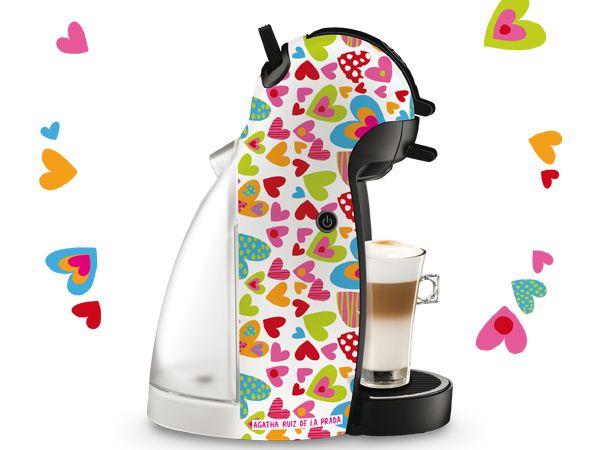 Nescafe Piccolo Agatha Ruiz De La Prada Com Imagens Colorida
