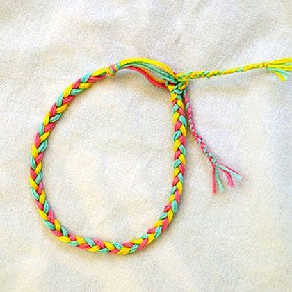 Easy Braided Friendship Bracelet