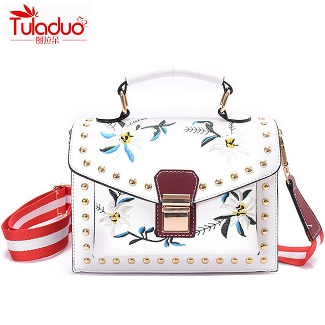 Check it on our site Small Flowers Embroidery Women Crossbody Bags Fashion Women Shoulder Handbags High Quality PU Leather Ladies Messenger Bags just only $18.45 with free shipping worldwide  #womanshoulderbags Plese click on picture to see our special price for you