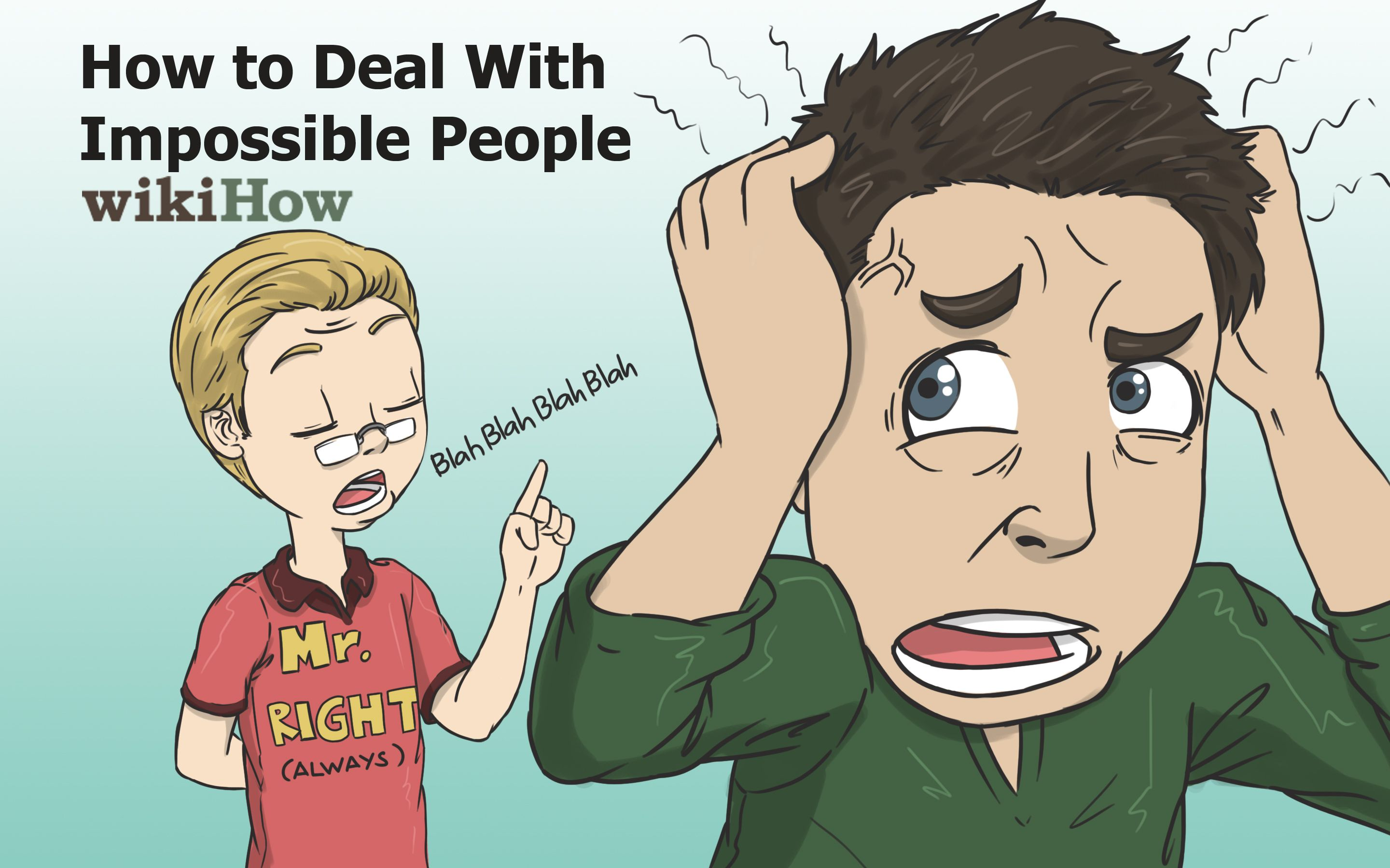 Deal with impossible people wikihow tips tricks pinterest people wikihow to deal with impossible people via wikihow ccuart Gallery