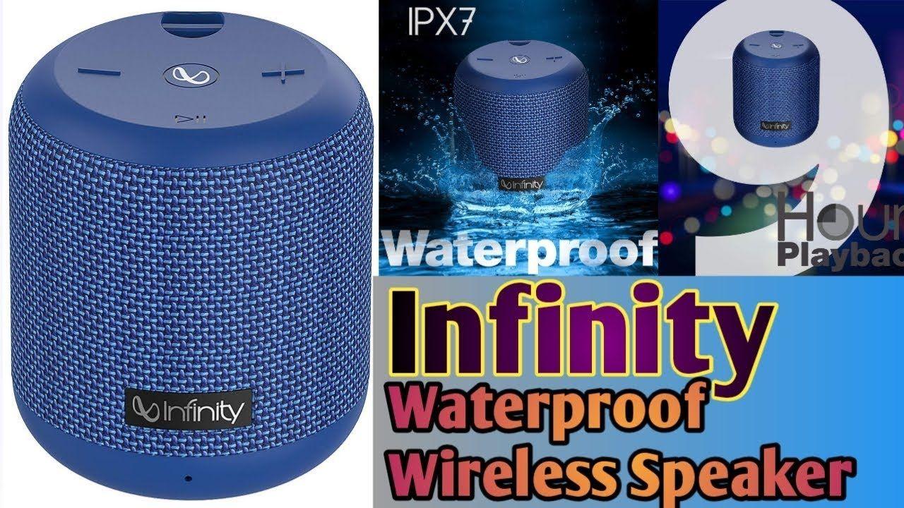 Infinity jbl waterproof dual connect portable wireless