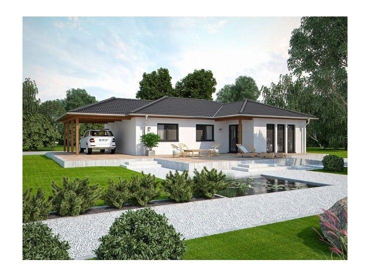 Haus bauen modern walmdach  Life 110 L Walmdach - #Einfamilienhaus von Bau mein Haus ...