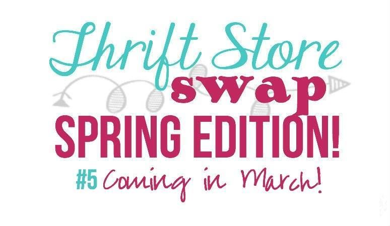 I am so excited to be part of this fabulous group of bloggers and the Sprind edition of the Thrift Store Swap! See what items caught my eye..