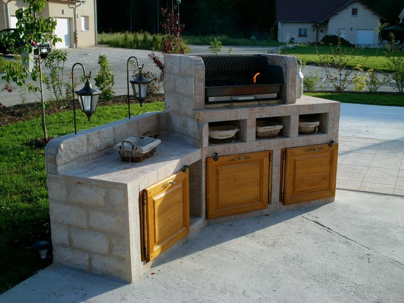 barbecue beton - Google zoeken TUIN Pinterest Barbecues - beton cellulaire exterieur barbecue
