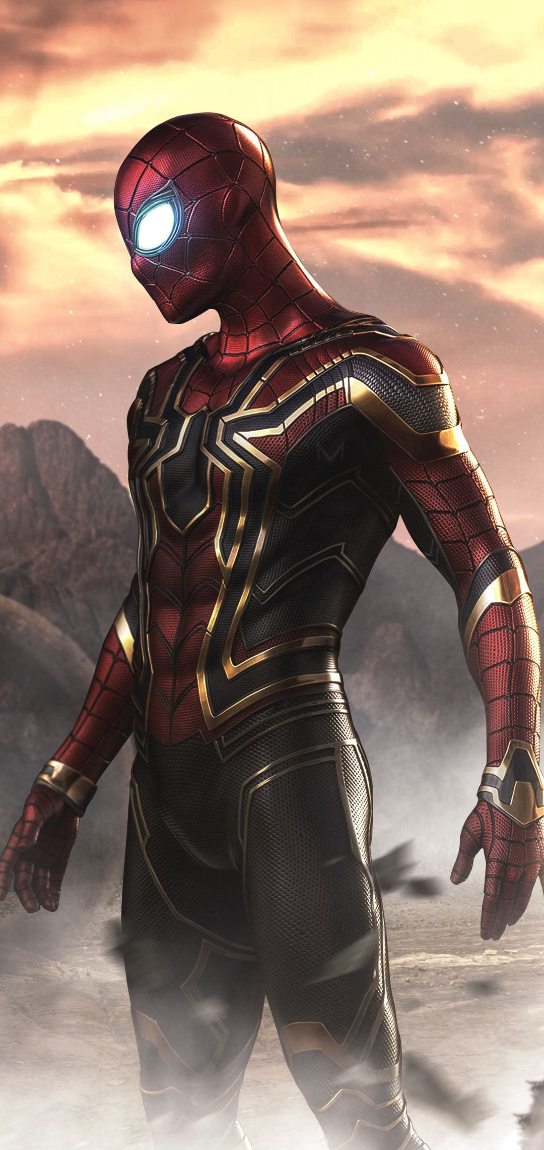 Spiderman Far From Home Movie In 1080x2280 Resolution Marvel