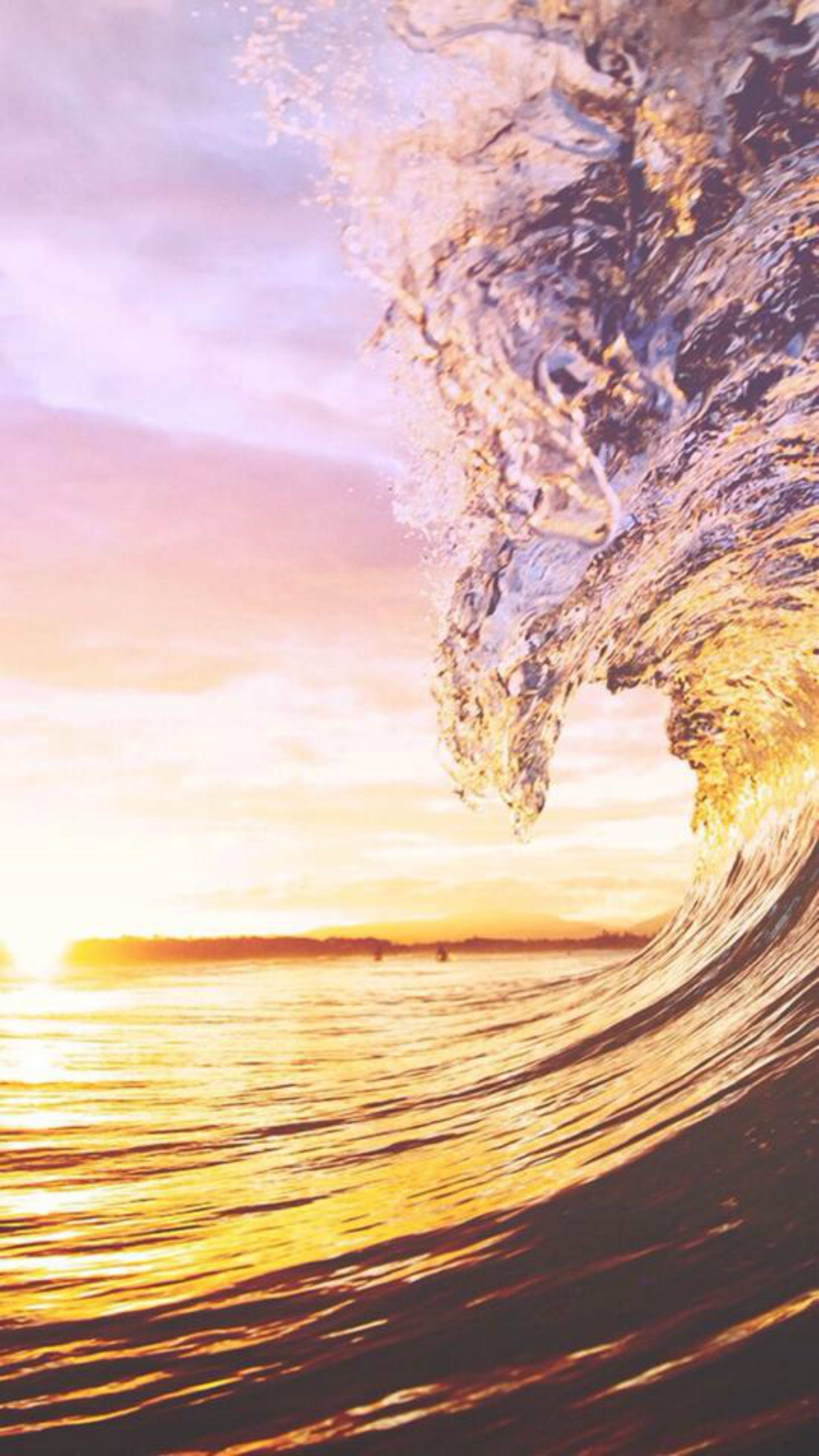 iPhone wallpaper summer waves Fotos, Paisajes, Iphone