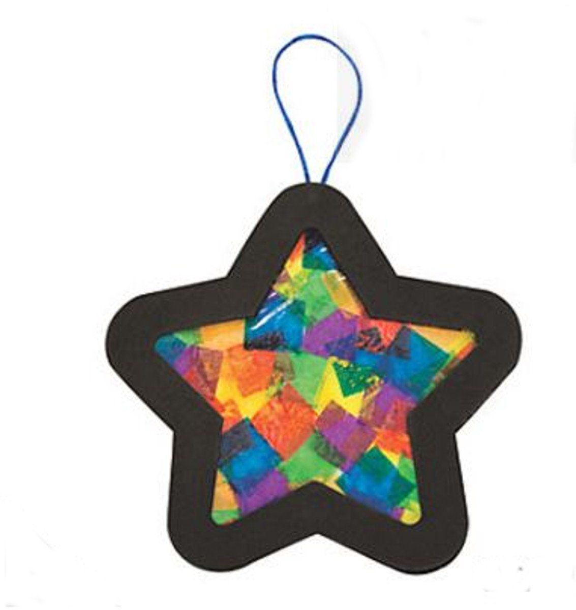Tissue Paper Stained Glass Star Christmas Tree Ornament Craft Kits 12 Kits Ad In 2020 Ornament Crafts Handmade Christmas Decorations Christmas Tree Ornament Crafts