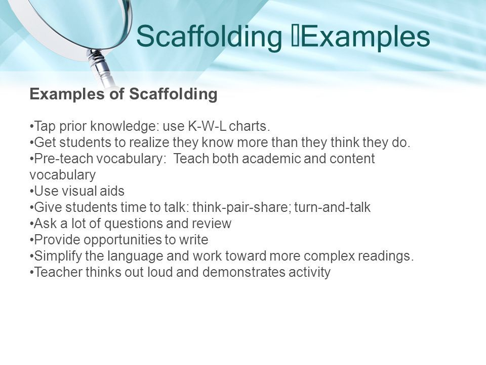 image result for example of scaffolding preschool pinterest
