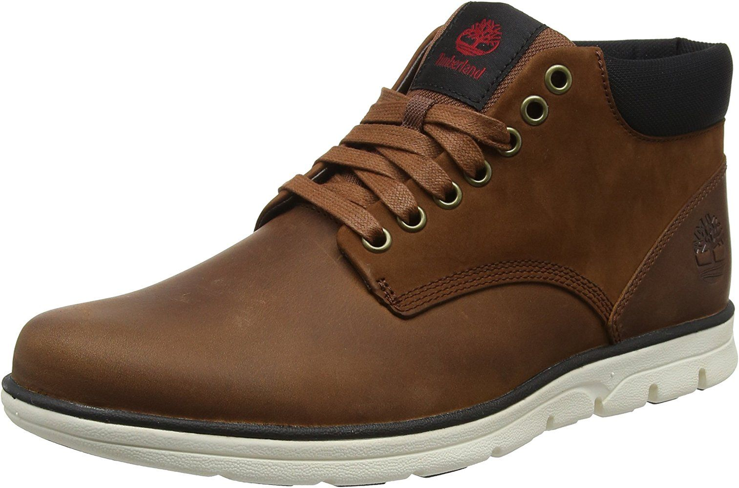 Timberland Bradstreet Chukka Leather, Bottines Homme, Marron