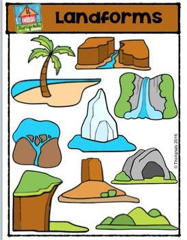 landforms p4 clips trioriginals digital clip art geography rh pinterest com landforms and waterforms clipart landforms and waterforms clipart