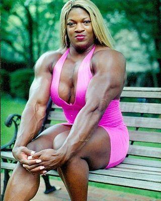 Butler tatianna black bodybuilder female