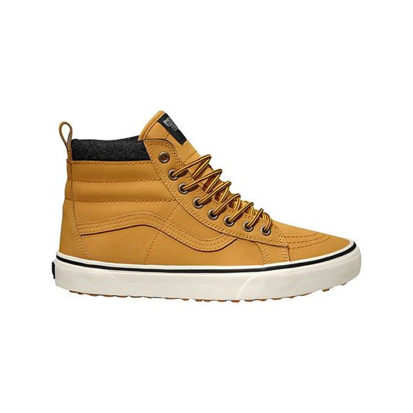 Vans Sk8-Hi MTE - Honey Casual Shoes (110 CAD) ❤ liked on