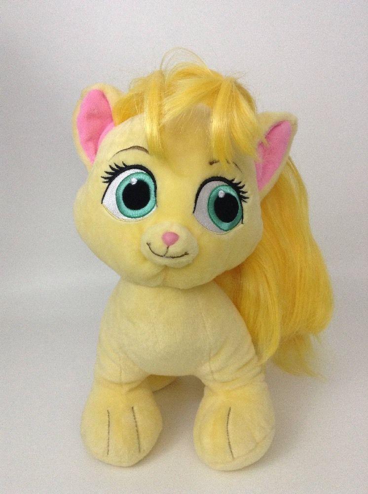 "Build a Bear Disney Palace Pets Rapunzel 12"" Summer Yellow"
