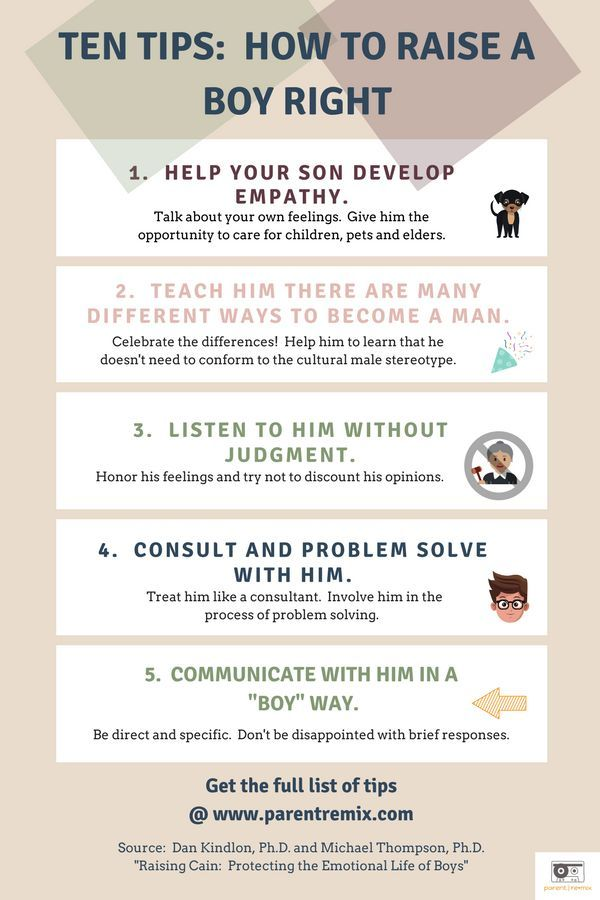 Your Roadmap + 10 Tips: How To Raise A Boy Right (and Keep Your Teen Boy Emotionally Healthy) #parenting