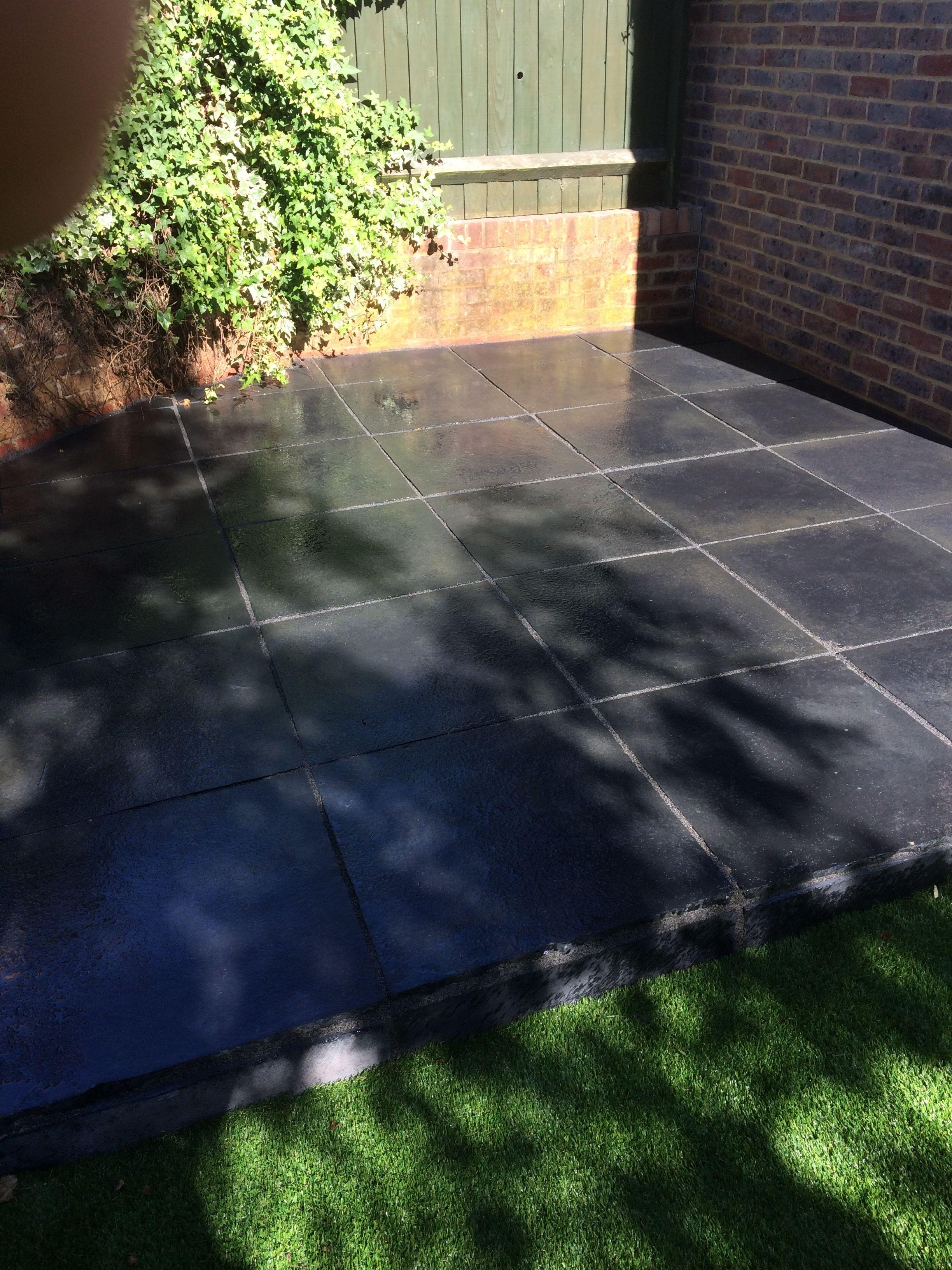 Black Stone Patio Ideas For Your Garden