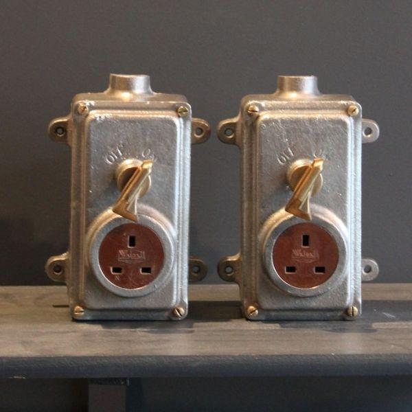 Vintage Plug Socket