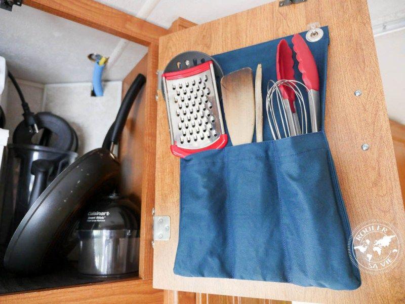 vr rangement ustensiles int rieurs de portes rv kitchen. Black Bedroom Furniture Sets. Home Design Ideas
