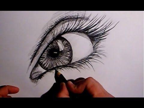 Realistisches Auge Zeichnen Zeichen Tutorial Youtube Art