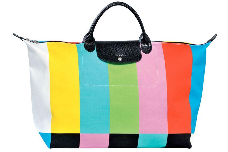 Jeremy Scott x Longchamp Le Pliage 'Color Bag'