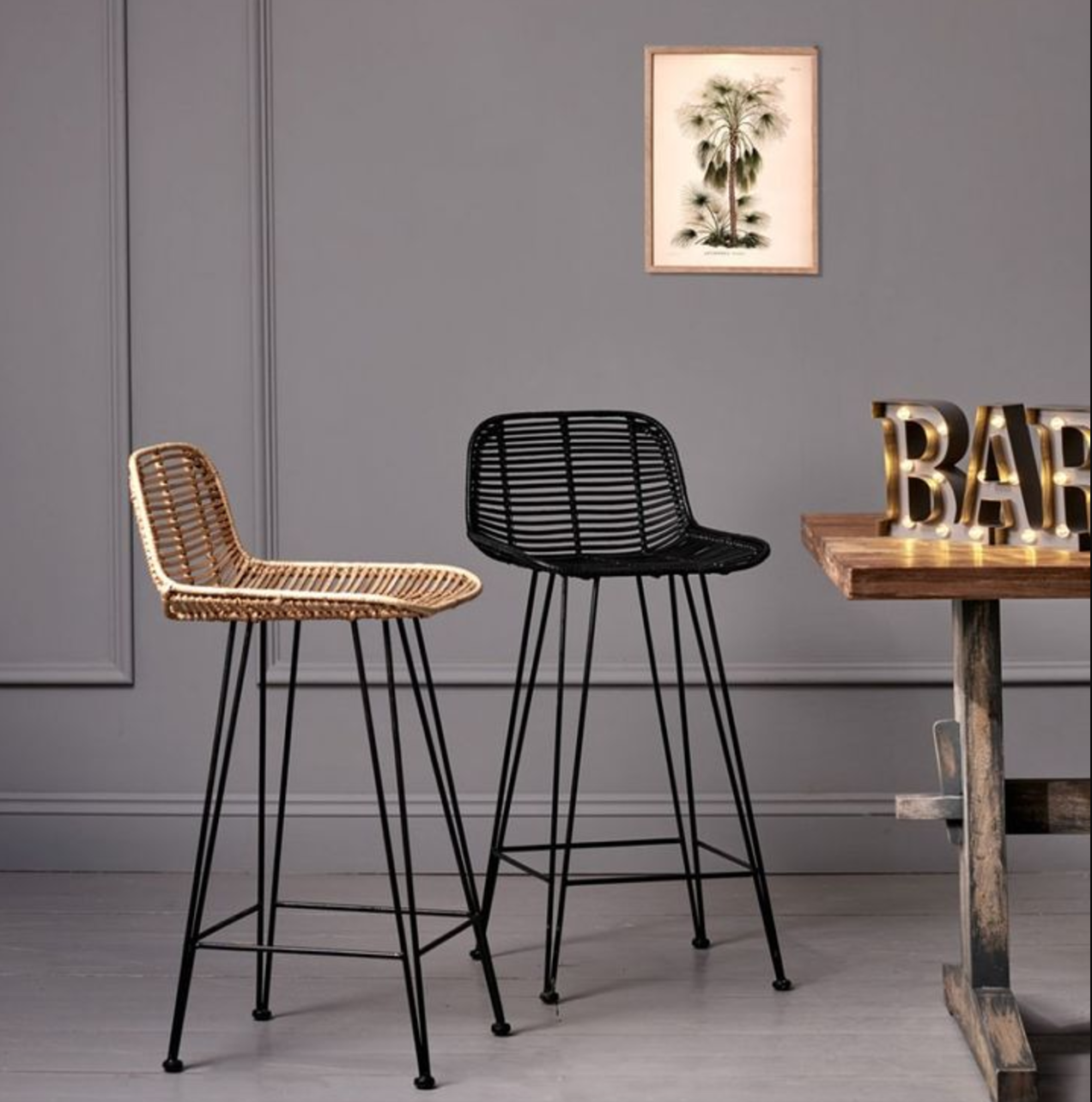 Rattan bar stool from graham and green 10 best barstools mad about the house