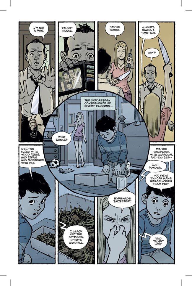 Graphic Novel Clube da Luta - Chuck Palahniuk (3)