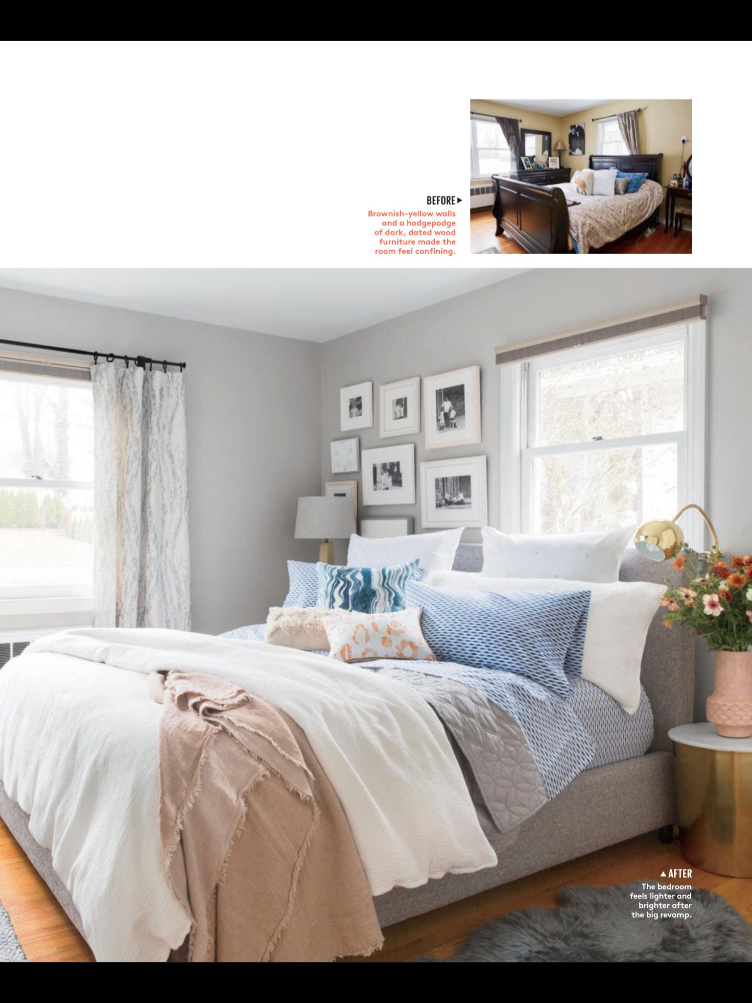 inside the dreamiest room refresh from real simple may 2017 read rh pinterest com