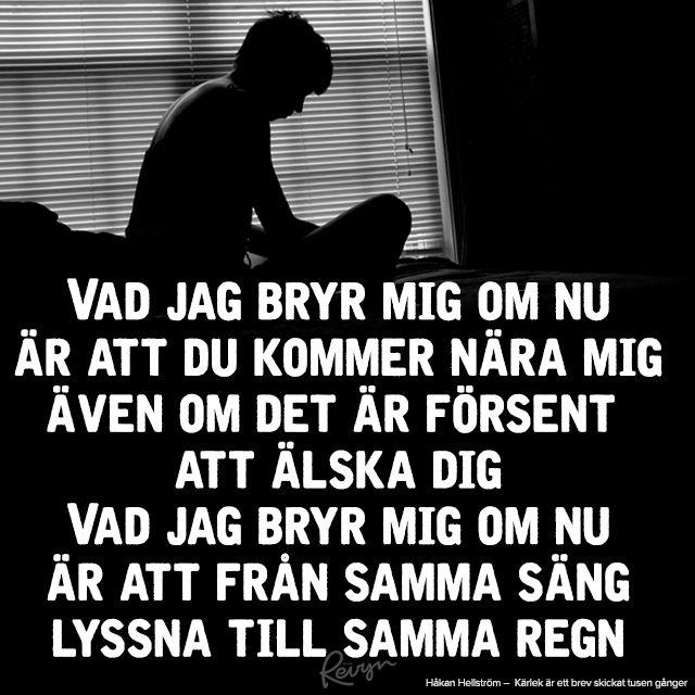 Håkan Hellström citat, låtar och texter