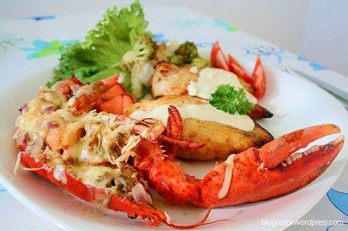 Lobster Thermidor Garlic Cream Sauce Lobster Thermidor Delicious Healthy Recipes Seafood Recipes