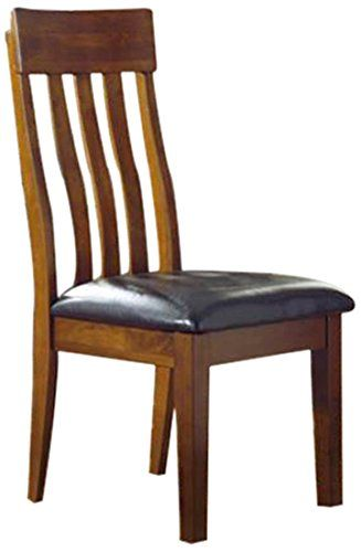 Ashley Furniture Signature Design Ralene Dining UPH Side Chair Medium Brown Set Of 2