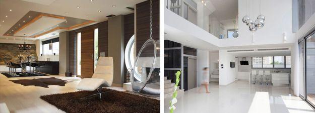 Gli interni delle ville moderne di design progetti da for Case moderne interni